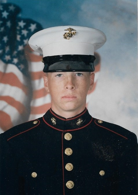 Baity joined the Marine Corps after high school and went to MCRD Parris Island, SC.