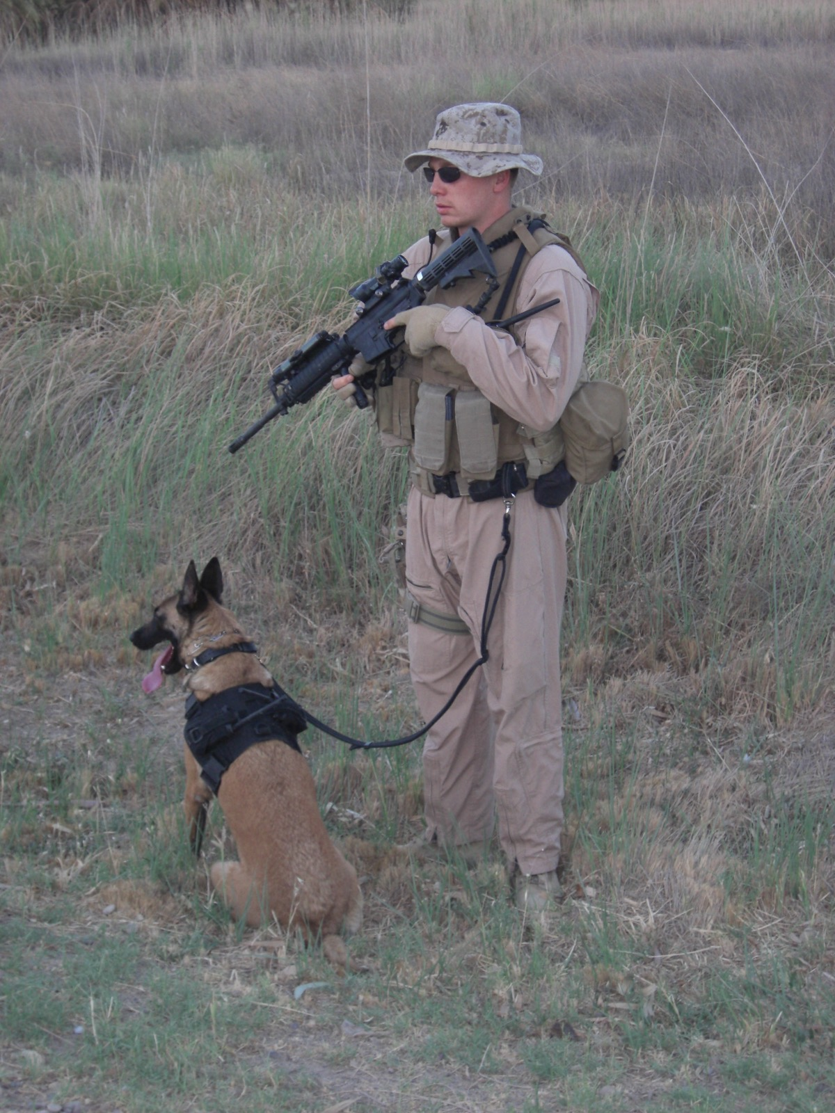 Baity and MWD Rona K459 in Pre-deployment.