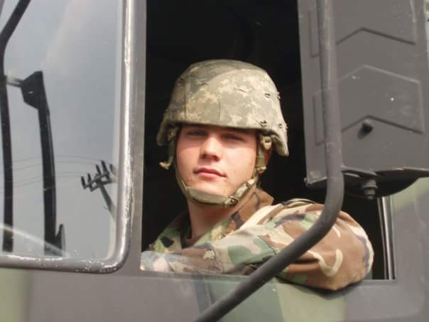 Tyler in Camp Casey, S. Korea in 2005 while assigned to 1/72 AR.