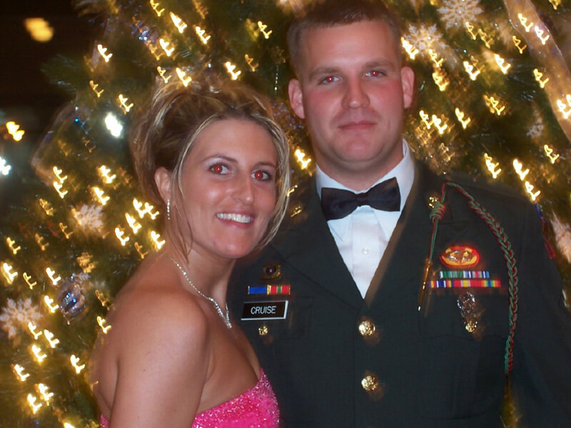 Chris and Amber at the Army Ball