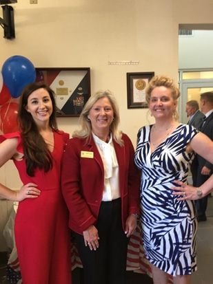 Acute Care Emergence, March 15, 2018, opening day with Lauren Bursey FNP and a Rep from Govenor Nathan Deal's office.