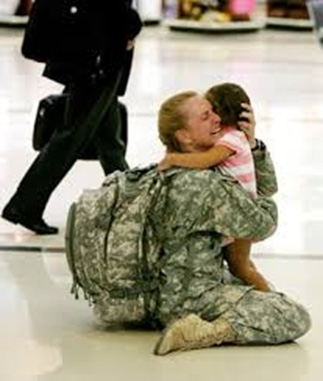 Terri's emotional reunion with her child upon returning from duty to Atlanta Hartfield Jackson Airport. She had to leave again 2 weeks later to return for the remainder of her tour.