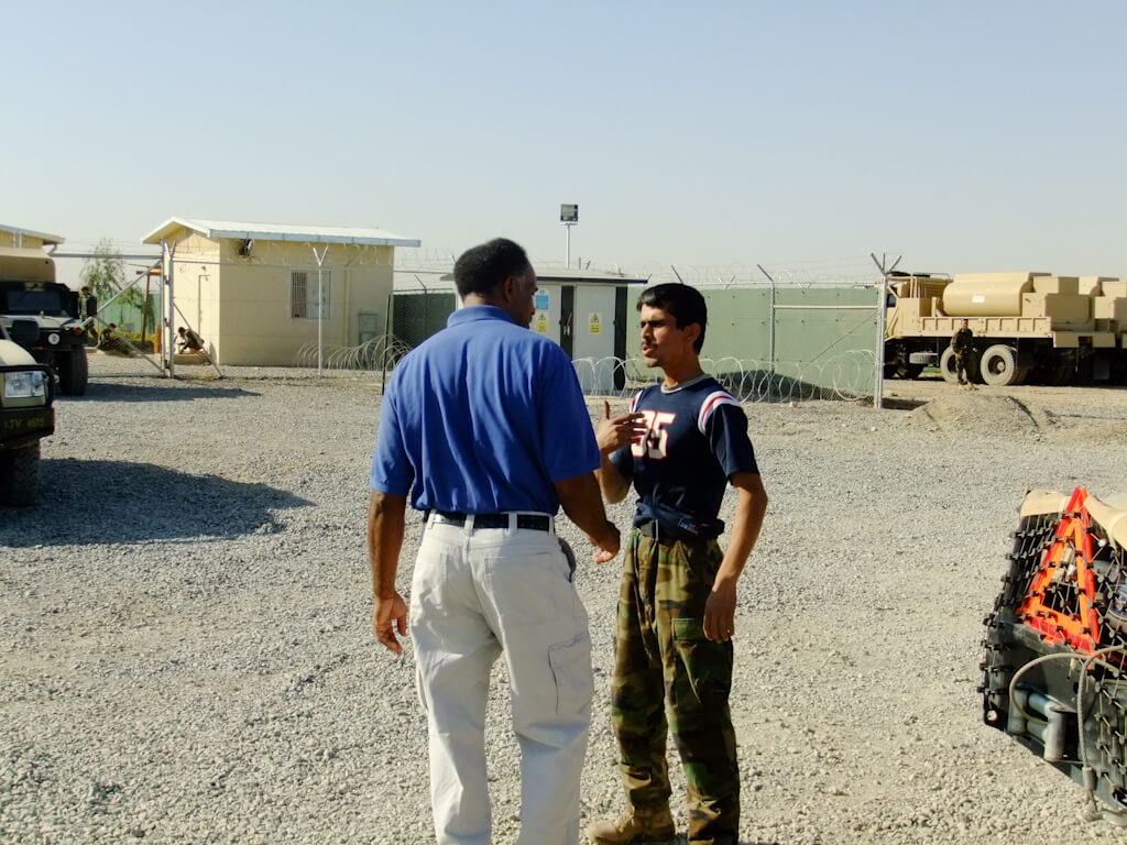 Training Afghan commandos, Bde's Leaders and staff on maintenance operations, equipment sustainment