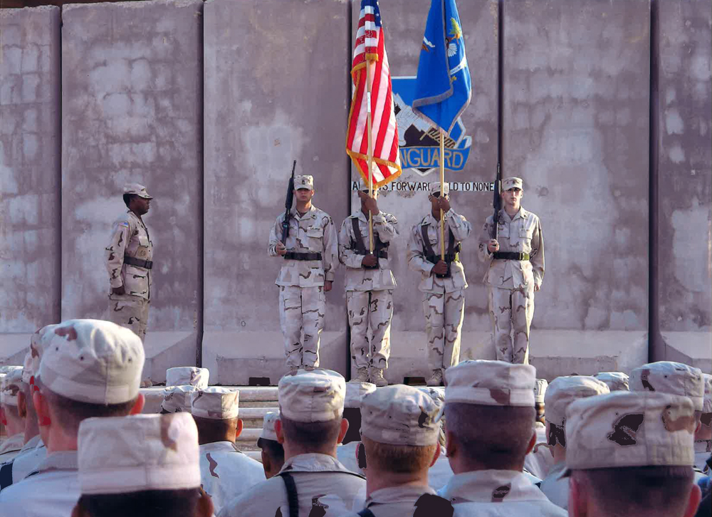 Cp. Victory Bagdad Activation Ceremony. U.S. Forces Iraqi Freedom, 2006