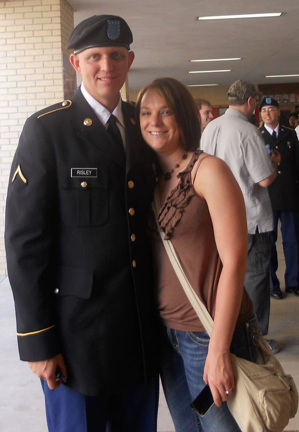 AIT graduation with his fiance
